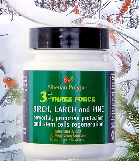 3F Three Force by Siberian Polyprenols